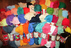 Vintage Aunt Lydia's Heavy Rug Yarn 60 Yard Skeins -Polyester - 50 Colors