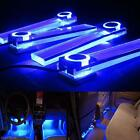 Купить 4x LED 12V DC Car Auto Interior Atmosphere Footwell Lights Decor Lamp Blue Light