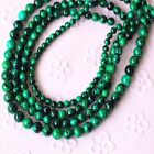 4 6 8 10 12mm  Lapis Lazuli Chrysocolla Gemstone Round Loose Beads 15.5""