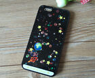 """Cosmic Planet Floating Clear Hard Case for iPhone 6 4.7"""" iPhone 6 Plus 5.5"""""""