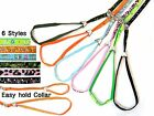 Cute Fashion Easy to wear collar Puppy 6 styles Leashes