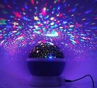 Sleeping night light Sky Star Lamp Projector for Baby and room decorate
