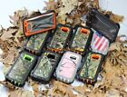 Samsung Galaxy S7 Edge Case Cover Camouflage Blaze [Clip Fits Otterbox Defender]