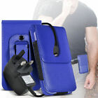 Premium PU Leather Belt Pouch Holster Case & Mains Charger For Oppo R7s