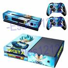 Dragon Ball Z Super Vegeta Vinyl Skin Decals Xbox One Console Kinect Controllers