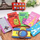 1PC Cartoon Cute Silicone Luggage Tags ID Name Tag Holder Travel Suitcase Label