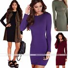 Womens Bandage Bodycon Long Sleeve Slim Fit Evening Party Cocktail Mini Dress