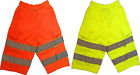 HI-LIGHT Hi Viz Jogger SHORTS Fleece Material EN471 GO/RT Hi Vis Cargo Workwear