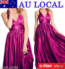 Braided Halter Womens Evening Formal Prom Party Maxi Long Dress AU Local Postage