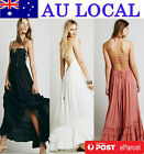 Backless Women's Evening Formal Gown Prom Party Maxi Long Dress AU Local Postage