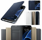 Premium Samsung Galaxy S7 Edge &amp; S7 Leather Flip Case Cover Wallet Card Holder <br/> Free Screen Protector - 1st Class Delivery - UK STOCK