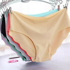 Womens Sexy Invisible Seamless Soft Lingerie Briefs Hipster Underwear Panties
