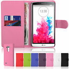 New Flip Pouch Wallet Pu Leather Case Card Cover Pouch For LG G3 D855 D850