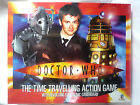 DOCTOR WHO THE TIME TRAVELLING ACTION GAME / NEW & FACTORY SEALED
