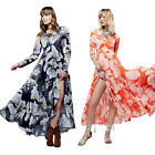 Vibrant Floral Women's Flower Pageant Cocktail Evening Prom Party Swing Dresses