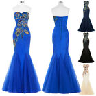 Formal Wedding Bridesmaid Bridal Dress Ball Party Cocktail Evening Prom Gowns