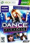 Dance Paradise - XBOX 360 / Kinnect / 40 Songs & Music Videos / Disc Is Mint