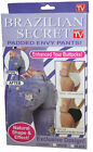Culotte Sexy Brazilian Secret Push Up Prothese Fessier Fausses Fesses Vu TV !