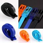 Golf Baseball Softball Candy Color Jelly Silicone Waist Band Belt Buckle Strap