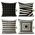 Fashion Nordic Style Geometric Printed Pillow Bed Sofa Cushion Home Decorative