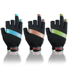 BOODUN 3 Cut Finger Anti-slip Breathable Fishing Hunting Gloves 3 Color M L Size