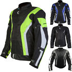 Spada Curve WP Leather Thermal CE Approved Motorbike Motorcycle Vented Jacket