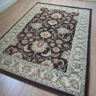 Pendra Traditional Persian Look Rugs In Brown & Beige - 6 Sizes Available OW45H