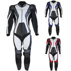 Spada Curve One Piece Men's Leather CE Approved Motorbike Motorcycle Vented Suit