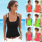 Fashion Women Summer Vest Top Sleeveless Blouse Casual Tank Tops T-Shirt  3Color