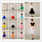 "NORIVIIQ 14 Colors 26"" Retro Underskirt/50s Swing Vintage Petticoat/Rockabilly"