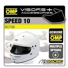OMP SPEED 10 RACE HELMET OPTIONAL EXTRA VISORS & ACCESSORIES BY OMP