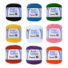 Aunt Lydia's Crochet Cotton Thread Size 10 Over 48 Colors Available