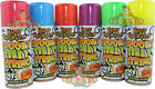SILLY STRING - SPOOKY HALLOWEEN, PARTY WEDDING SILLY STRING Black, Purple, White