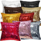 Shiny 3x5mm Sequins w/ Velvet Designer Cushion Cover/Pillow Case*Custom Size*