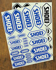 SHOEI STICKER SHEETS - COMPRISING 24 INDIVIDUAL STICKERS - DECALS - Motorcycling
