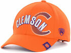 Clemson Tigers NCAA Top of the World Fighting ORANGE Adjustable Cap Hat - OSFA