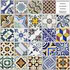 Various Traditional Tile Sticker Decal Packs Kitchen Bathroom Self Adhesive 6