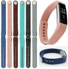 Genuine Leather Replacement Wrist Band Strap For Fitbit Alta Small / Large Size