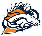 Denver Broncos Avalanche Rockies Nuggets Fan Vinyl Sticker Decal on eBay