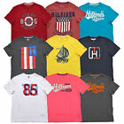 Tommy Hilfiger Shirt Mens Classic Fit Graphic Tee Crew Neck V-neck T-Shirt New