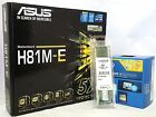 Asus H81M-E Como Kit with i3, i5 processor, 4GB, 8GB & 16GB Lot of 1