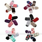 5 Pairs Colors Unisex Warm Winter Stockings Fashion Design Wool Socks Christmas