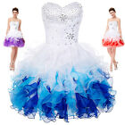 Short Party Homecoming TUTU Ball Gown Summer Mini Cocktail Dress Graduation Prom