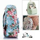 Women Backpack School Campus College Shoulder Bag Rucksack Canvas Travel Bags