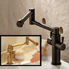 Best Quality Single Handle Folding Retractable Kitchen Sink Faucet Deck Mounted