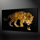 LEOPARD STUNNING ANIMAL CONTEMPORARY CANVAS PRINT ART READY TO HANG