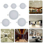 3-15W Ultra Thin LED Lamp Recessed Grid Down Light Slim Round LED Ceiling Panel