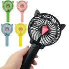 Foldable Mini Portable Cooling Fan USB Rechargeable Cute Cartoon Summer Cooler