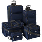 Samsonite 5 Piece Nested Luggage Suitcase Set - 25 Inch, 20 Inch &amp; More <br/> Choose Color - Authorized Dealer, 10-Year Warranty