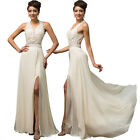Sexy Halter Backless Long Formal Wedding Evening Gowns Cocktail Party Dress 2~16